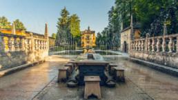 Wasserspiele und Tiergarten Hellbrunn in Salzburg