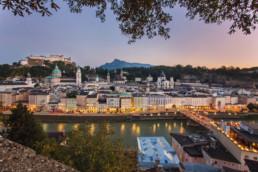 Altstadt Salzburg - Dom, Festung Hohensalzburg und Getreidegasse